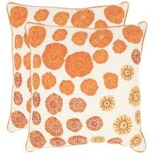 Persian Legend Cotton Throw Pillow (Set of 2)