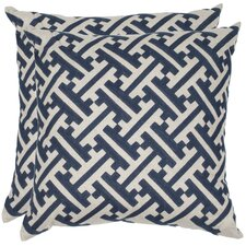 Avery Linen Throw Pillow (Set of 2)