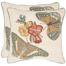 Kelsey Cotton Throw Pillow (Set of 2)