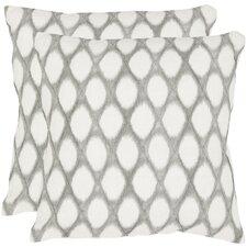 Kendell Linen Throw Pillow (Set of 2)