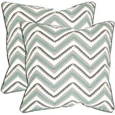Elli Cotton Throw Pillow (Set of 2)