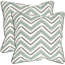 Elli Cotton Throw Pillow (Set of 2)