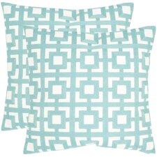 Emily Cotton Throw Pillow (Set of 2)