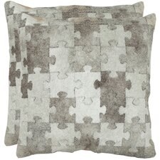 Mason Suede Throw Pillow (Set of 2)