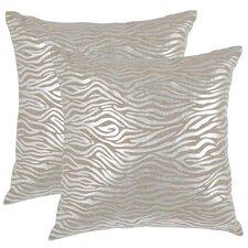 Demi Linen Throw Pillow (Set of 2)