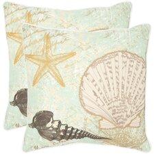 Eve Cotton Throw Pillow (Set of 2)