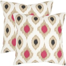 Miranda Cotton Throw Pillow (Set of 2)