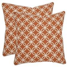 Alice Cotton Throw Pillow (Set of 2)