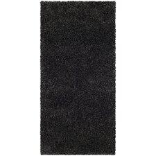 Milan Shag Dark Grey Rug