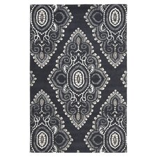 Wyndham Black/Gray Rug
