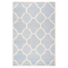 Cambridge Light Blue / Ivory Area Rug