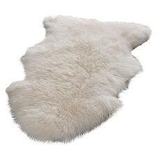 Sheepskin White Area Rug