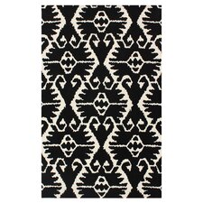 Wyndham Black & Ivory Area Rug