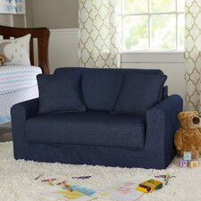 Children's Suede Sofa Sleeper