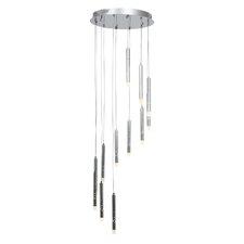 Rain 12 LED Integrated Bulb Cascade Pendant