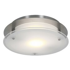 Vision 1 Light Outdoor Flush Mount