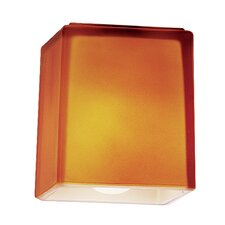"3"" Hermes Glass Square Pendant Shade"
