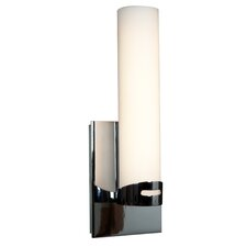 Chic 1 Light Round Candle Sconce