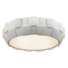 Layers 6 Light Outdoor Flush Mount