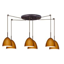 Vila 6 Light Pendant