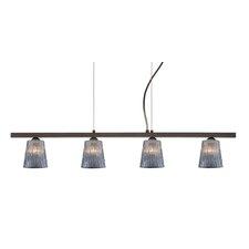Nico 4 Light Linear Pendant