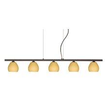 Tay Tay 5 Light Linear Pendant