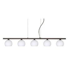 Palla 5 Light Linear Pendant