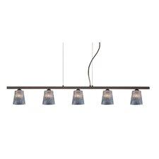 Nico 5 Light Linear Pendant