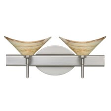 Hoppi 2 Light Bath Vanity Light