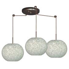 Luna 3 Light Globe Pendant