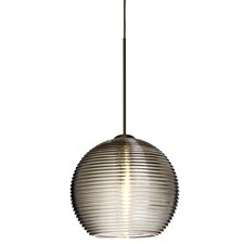 Kristall 1 Light Globe Pendant
