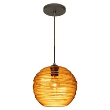 Wave 1 Light Globe Pendant