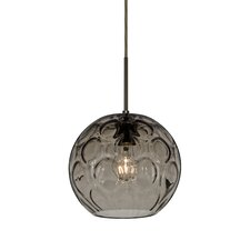 Bombay 1 Light Mini Globe Pendant