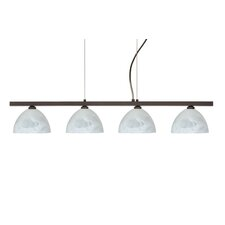 Brella 4 Light Linear Pendant