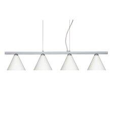 Kani 4 Light Cable Hung Linear Pendant