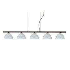 Brella 5 Light Linear Pendant