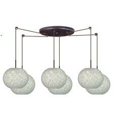 Luna 6 Light Globe Pendant