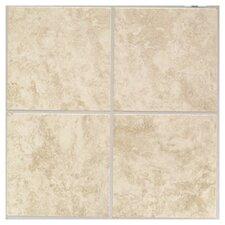 """Ristano 6"""" x 6"""" Ceramic Field Tile in Crema"""