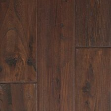"Zanzibar 5"" Engineered Elm Walnut Hardwood Flooring in Antique Walnut"