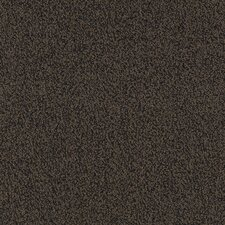 "Aladdin Major Factor  24"" x 24"" Carpet Tile in Coffee"
