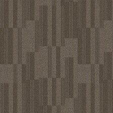 "Derry 24"" x 24"" Carpet Tile in Chert"
