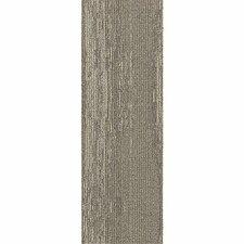 "Brunswick 12"" x 36"" Carpet Tile in Perfect Paths"