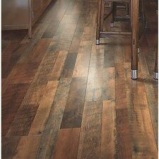 "Cashe Hills 8"" x 47"" x 7.87mm Oak Laminate in Brown"