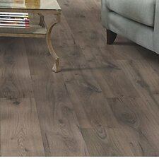"Copeland 8"" x 47"" x 7.87mm Hickory Laminate in Brown"