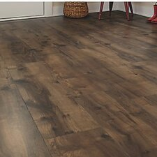 "Cashe Hills 8"" x 47"" x 7.87mm Maple Laminate in Chocolate"