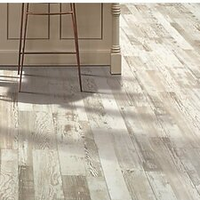 "Cashe Hills 8"" x 47"" x 7.87mm Pine Laminate in White"