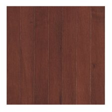 "Madison Row 3-1/4"" Solid Oak Maple Hardwood Flooring in Spice Cherry"