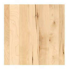 "Madison Row 2-1/4"" Solid Oak Maple Hardwood Flooring in Natural"