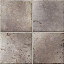"Quarry Stone 17""x 17"" Porcelain Field Tile in Slate"