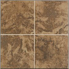 "Pavin Stone 2"" x 2"" Ceramic Mosaic Tile in Brown Suede"
